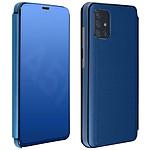 Avizar Etui folio Bleu pour Samsung Galaxy A51