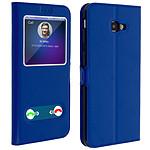 Avizar Etui folio Bleu pour Samsung Galaxy J4 Plus