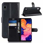 Lapinette Etui Housse Portefeuille Pour Samsung Galaxy A10 Noir