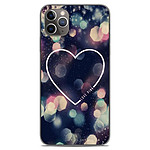 1001 Coques Coque silicone gel Apple iPhone 11 Pro Max motif Coeur Love