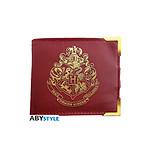 Harry Potter - Portefeuille premium Poudlard doré