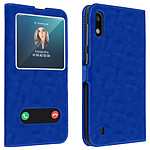 Avizar Etui folio Bleu pour Samsung Galaxy A10