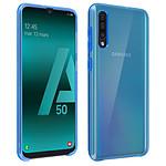 Avizar Coque Bleu Semi-Rigide pour Samsung Galaxy A50