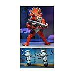 Les Tortues ninja - Pack 3 figurines Triceraton Infantryman & Roadkill Rodney 18 cm