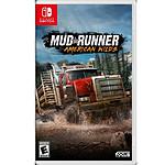 MudRunner American Wilds Edition (SWITCH)