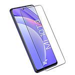 Avizar Film verre trempé Noir pour Xiaomi Mi 10T Lite