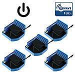 Qubino Pack De 5 Modules Encastrables 1 Relai Z-wave Plus - Qubino QUB_LOT5_ZMNHAD1