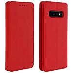 Avizar Etui folio Rouge pour Samsung Galaxy S10