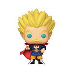 Dragon Ball Super - Figurine POP! Specialty Series Super Saiyan Hercule (Glow) 9 cm