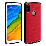 Avizar Coque Rouge pour Xiaomi Redmi Note 5