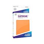 Ultimate Guard - 60 pochettes Supreme UX Sleeves format japonais Orange Mat