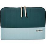 """STM  Housse pour Macbook pro 13"""" GRACE  Hunter Green"""