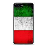 1001 Coques Coque silicone gel Apple IPhone 8 Plus motif Drapeau Italie