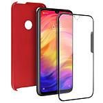 Avizar Coque Rouge pour Xiaomi Redmi Note 7