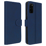 Avizar Etui folio Bleu pour Samsung Galaxy S20 Plus
