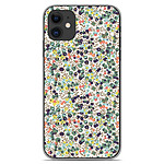 1001 Coques Coque silicone gel Apple iPhone 11 motif Liberty Wiltshire Vert