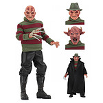 Freddy sort de la nuit - Figurine Retro Freddy Krueger 20 cm