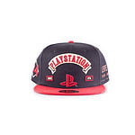 Sony PlayStation - Casquette Biker hip hop Snap Back Logo Sony PlayStation