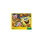 Bob l'éponge - Puzzle Krabby Patties (500 pièces)
