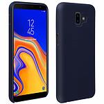Avizar Coque Bleu Nuit pour Samsung Galaxy J6 Plus