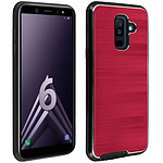 Avizar Coque Rouge Hybride pour Samsung Galaxy A6 Plus