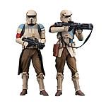 Star Wars Rogue One - Pack 2 statuettes ARTFX+ Scarif Stormtrooper 18 cm