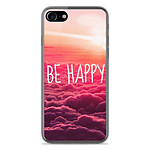 1001 Coques Coque silicone gel Apple IPhone 8 motif Be Happy nuage