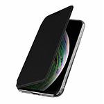 Avizar Etui folio Noir Miroir pour Apple iPhone XS Max