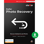 Stellar Photo Recovery Standard - Licence 1 an - 1 poste - A télécharger