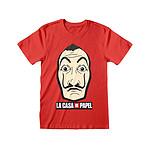 La casa de papel - T-Shirt Mask & Logo La casa de papel - Taille S