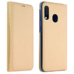 Avizar Etui folio Dorée Porte-Carte pour Samsung Galaxy A20e