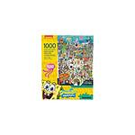 Bob l'éponge - Puzzle Cast (1000 pièces)