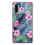 1001 Coques Coque silicone gel Huawei P30 motif Tropical Aquarelle