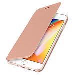 Avizar Etui folio Rose Champagne pour Apple iPhone 7 , Apple iPhone 8 , Apple iPhone SE 2020