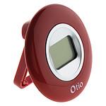 Thermomètre d'intérieur rouge - Otio
