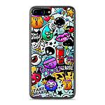 1001 Coques Coque silicone gel Apple IPhone 8 Plus motif Graffiti 2