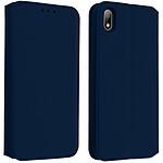 Avizar Etui folio Bleu Nuit pour Huawei Y5 2019 , Honor 8S