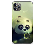 1001 Coques Coque silicone gel Apple iPhone 11 Pro Max motif Panda Bubble