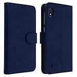 Avizar Etui folio Bleu Nuit pour Samsung Galaxy A10