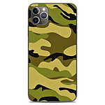 1001 Coques Coque silicone gel Apple iPhone 11 Pro Max motif Camouflage
