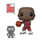 NBA - Figurine POP! Super Sized Michael Jordan (Red Jersey) 25 cm