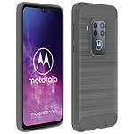 Avizar Coque Gris pour Motorola One Pro , Motorola One Zoom
