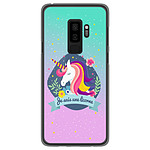 1001 Coques Coque silicone gel Samsung Galaxy S9 Plus motif Je suis une licorne
