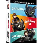 Coffret Dragons 1 à 3 : Dragons  Dragons 2  Le Monde Caché [Blu-Ray]