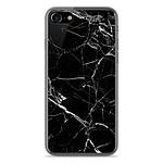 1001 Coques Coque silicone gel Apple IPhone 8 motif Marbre Noir