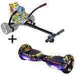"""UrbanGlide Hoverboard 6,5"""" BT Multicolor"""