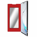 Avizar Etui folio Rouge Miroir pour Samsung Galaxy Note 10