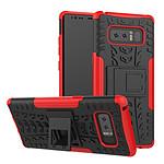Lapinette Coque Anti Choc Pour Samsung Galaxy Note 8 Modèle Spider Rouge