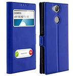Avizar Etui folio Bleu pour Sony Xperia XA2