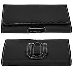 Avizar Etui ceinture Noir pour Tous les smartphones de 170 mm de longueur et 88 de largeur maximum